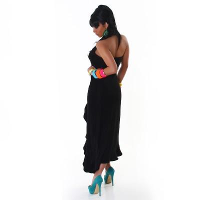 Robe bustier Latino noire chez Louane Fashion