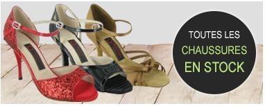 Chaussures de danse en stock - Danseboutique