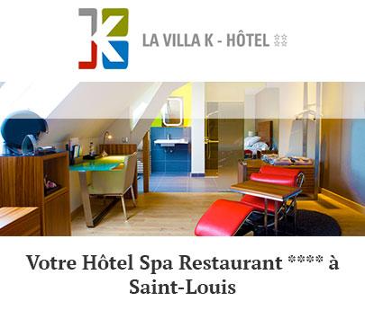 Hôtel 4 Etoiles, La Villa K, Saint-Louis