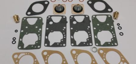 Des pochettes de joints pour carburateurs : Weber, Zénith, Dellorto, Pierburg, Mikuni, Aisan